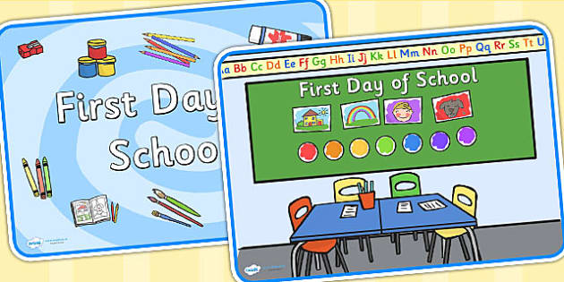 First Day of School Display Posters - first day of school, first day, school posters, first day posters, first day of school poster, first school day