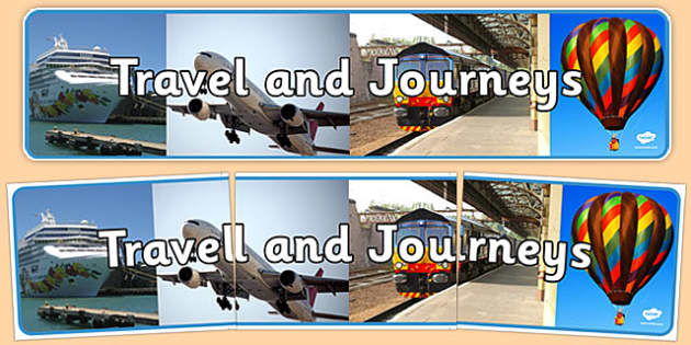 Travel and Journeys Photo Display Banner - travel, journeys, photo display banner, photo banner, display banner, banner,  banner for display, display photo