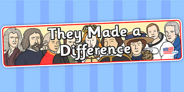 They Made a Difference IPC Display Banner - they made a difference, IPC display banner, IPC, making a difference display banner, IPC display
