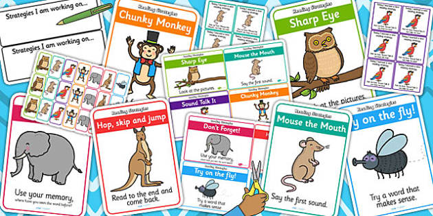 Guided Reading Strategy Pack - read, reading aid, reading, books