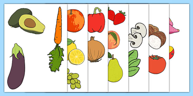 New Zealand Fruit and Vegetable Display Cut Outs