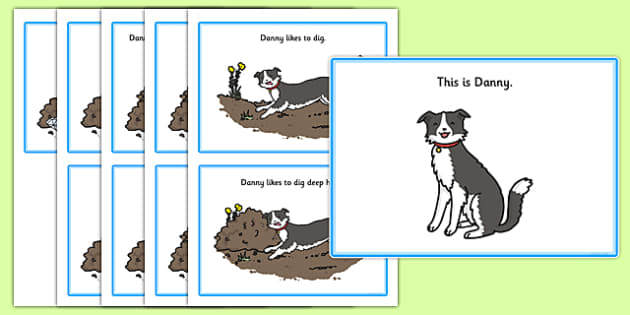 Initial d Story - speech sounds, phonology, phonological delay, phonological disorder, articulation, speech therapy, dyspraxia