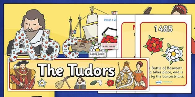 Ready Made Tudor Display Pack Henrys Wives - ready made, tudors