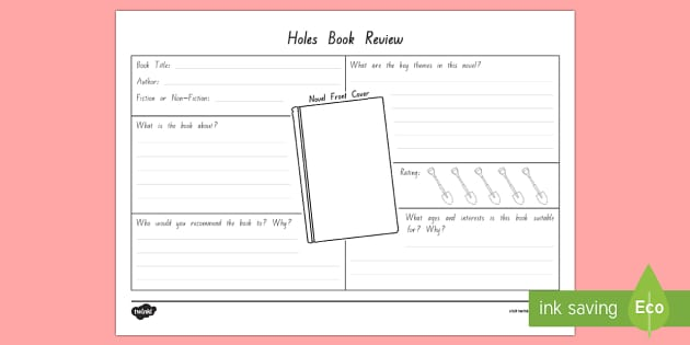 Detailed Book Review to Support Teaching on Holes - New Zealand Chapter Chat, Chapter Chat NZ, Chapter Chat, Holes, Book Review