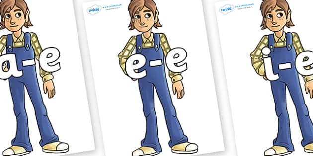 Modifying E Letters on Hogarth - Modifying E, letters, modify, Phase 5, Phase five, alternative spellings for phonemes, DfES letters and Sounds