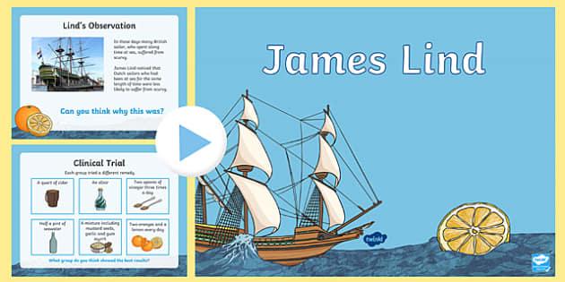 James Lind PowerPoint-Scottish