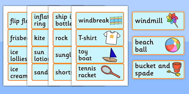 Seaside Souvenir Shop Labels (Role Play) - Role Play, sea, seaside, shop, souvenir, Under the sea, sea, seaside, topic, water, tide, waves, sand, beach, sea, sun, holiday, coast