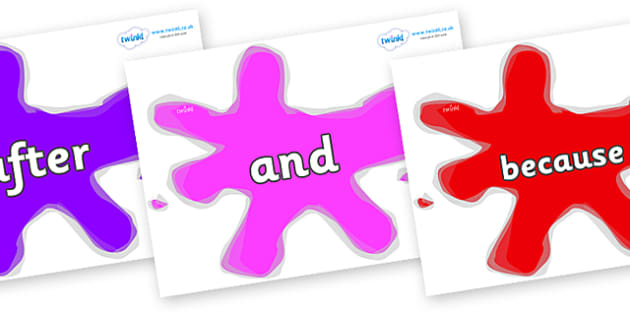 Conjunctions on Splats - Connectives, VCOP, connective resources