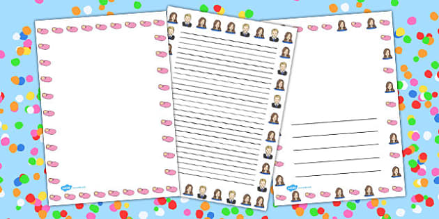 Royal Princess Page Borders - royal, princess, page, borders