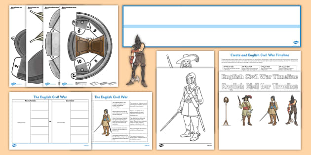 The Civil War and Revolution Resource Pack - History Club, The Civil War and Revolution, Ideas, Support, Elderly Care, Care Homes, Activity Coord