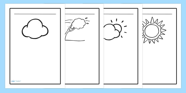 Weather Writing Frames - writing frame, frame, writing, writing aid, weather, weather writing, weather writing prompt, writing template, template, literacy