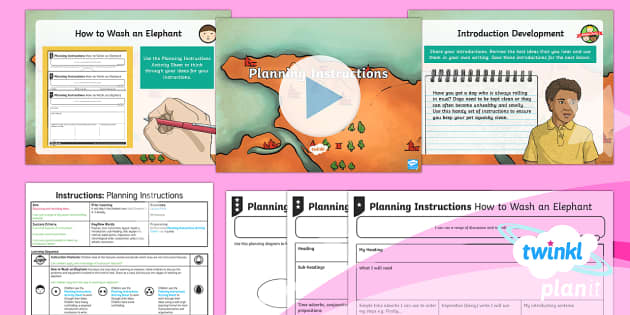 PlanIt Y3 Explorers: The Firework Maker's Daughter Lesson Pack Instructions 2 - Explorers, The Firework-Maker's Daughter, adventure, journey, instructions, imperative verbs, phill