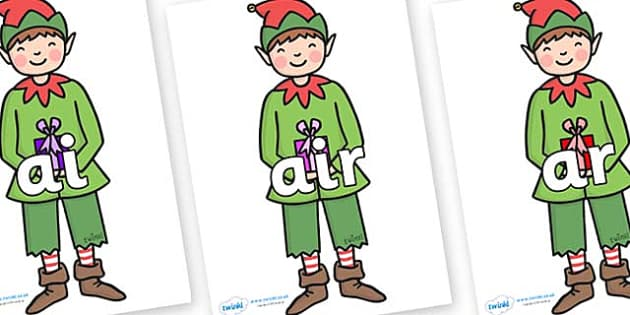 Phase 3 Phonemes on Elf (Plain) - Phonemes, phoneme, Phase 3, Phase three, Foundation, Literacy, Letters and Sounds, DfES, display