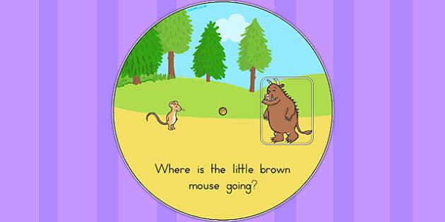 The Gruffalo Story Wheel - australia, gruffalo, story wheel