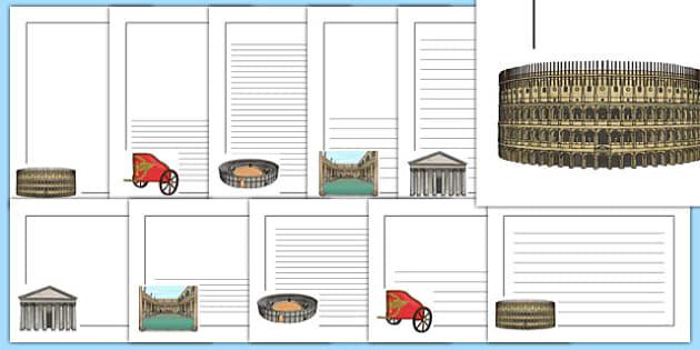 The Romans Page Borders Portrait - romans, page borders, portrait