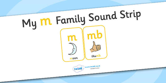 My m Family Sound Strip - family sound strip, sound strip, my family sound strip, my m sound strip, m sound strip, m family sound strip