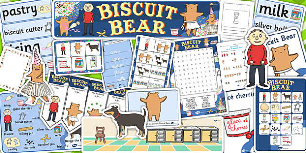 Resource Pack to Support Teaching on Biscuit Bear - Biscuit, Bear, Resource, Pack