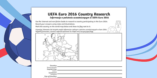 Football UEFA Euro 2016 World Cup Country Fact File Polish Translation - polish, football, uefa, euro 2016, world cup, country, fact file