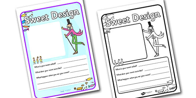 Willy Wonka Sweet Design Template - design template, willy wonka, sweet design template, design, story book, willy wonka sweet design, template, sweet
