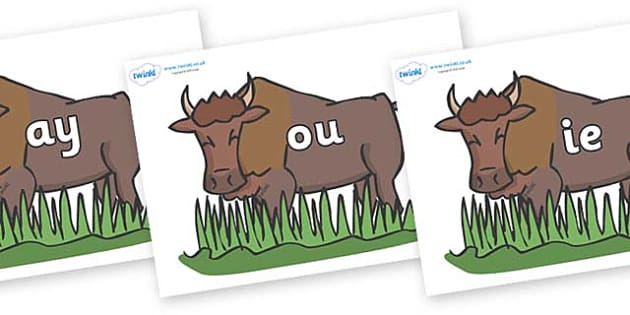 Phase 5 Phonemes on Bison - Phonemes, phoneme, Phase 5, Phase five, Foundation, Literacy, Letters and Sounds, DfES, display