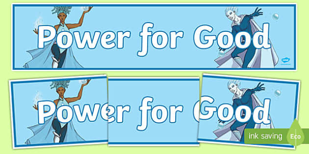 Anti Bullying Week Superhero 'Power for Good' Banner