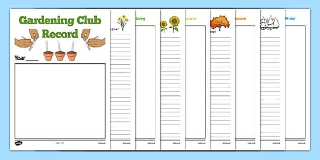 Elderly Care Gardening Club Record - Elderly, Reminiscence, Care Homes, Gardening Club