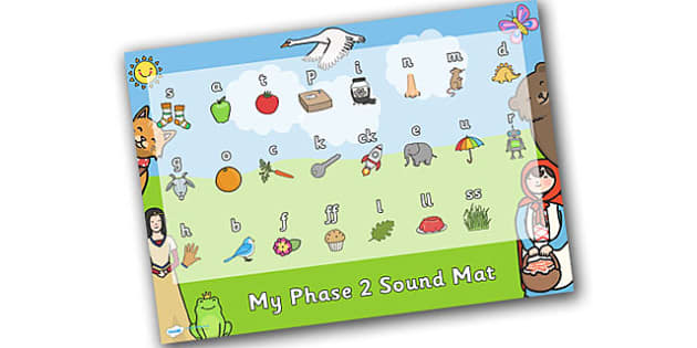 Traditional Tales Themed Phase 2 Sound Mat - traditional tales, phase 2, phase two, sounds, sound mat, letters and sounds, phonics, phonemes, graphemes, dfes