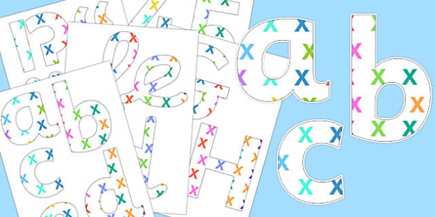 Multiplication Themed Display Lettering - multiply, display, letters, times, multiplication
