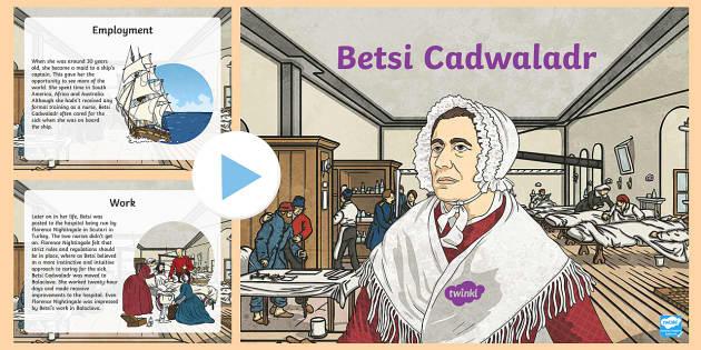 Betsi Cadwaladr PowerPoint - WLE Famous Welsh Faces,Welsh