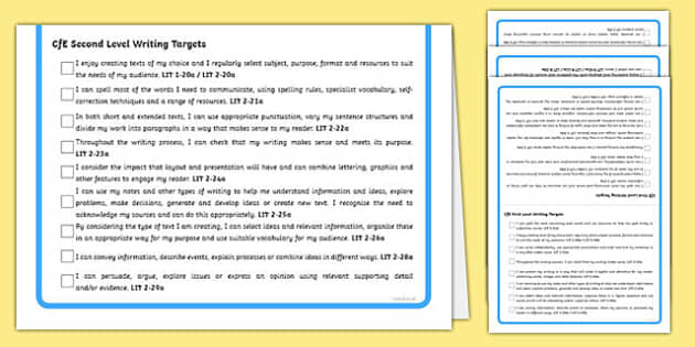 Scottish CfE Early First and Second Level Tabletop Visual Targets - cfe, curriculum for excellence,