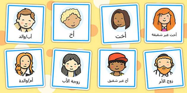 شارات لعب دور أفراد العائلة - لعب دور، موارد تعليمية