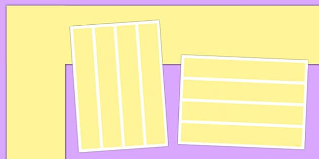 Neutral Pastel Yellow Display Border - neutral display