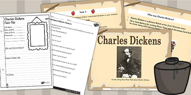 Writers Charles Dickens Primary Resources - The lives of signific