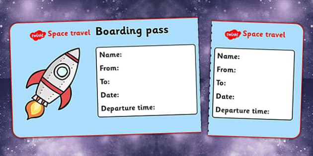 Space Travel Agency Role Play Tickets - role play, roleplay, space travel, in space, space, space agency, space role play tickets, space tickets, tickets to space, roleplaying, acting, role-play, role-playing
