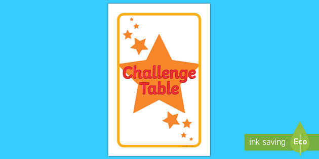 IKEA Tolsby Challenge Table Prompt Frame