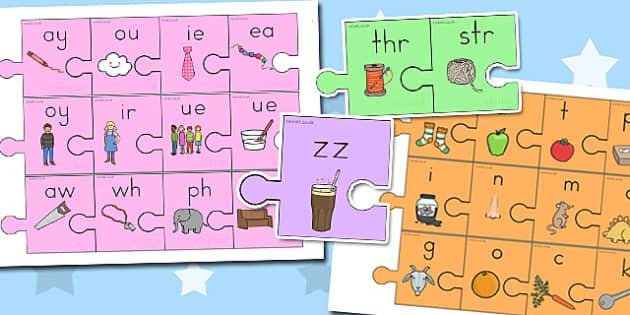 Phase 2 to 5 Jigsaw - australia, phase 2, phase 5, jigsaw, phase