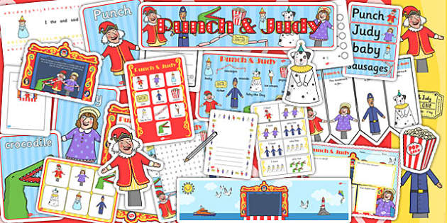 Punch and Judy Resource Pack - punch, judy, theatre, resource