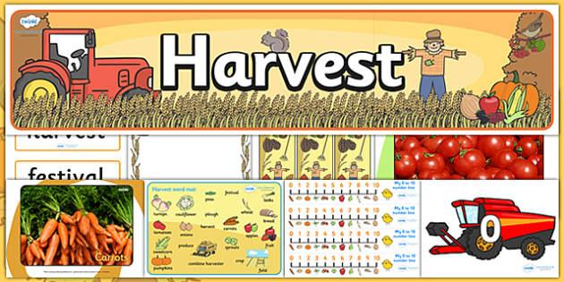 Harvest Festival Resource Pack - harvest festival, harvest, festival, resource pack, harvest resource pack, festival resource pack, harvest festival pack