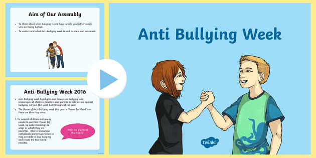 Anti-Bullying KS2 Assembly PowerPoint - bullying, anti bullying, citizenship, feeling good, what to do, bullied,