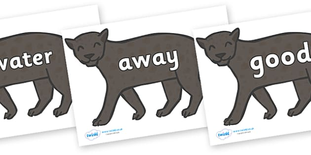 Next 200 Common Words on Panthers - Next 200 Common Words on  - DfES Letters and Sounds, Letters and Sounds, Letters and sounds words, Common words, 200 common words