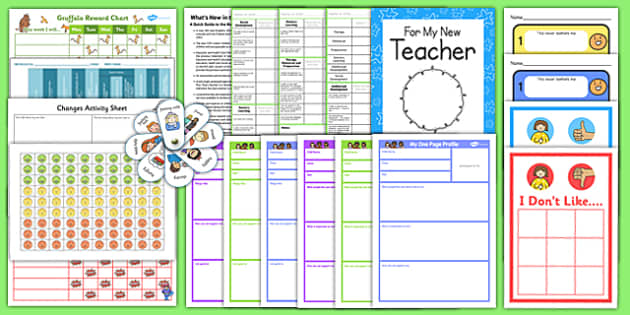 SEN Back to School Support Pack Primary - sen, school support, pack