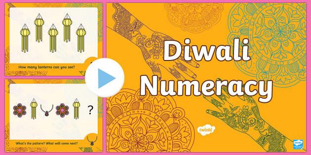 Diwali Numeracy PowerPoint