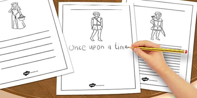 Robin Hood Writing Frames - robin hood, writing frames, writing