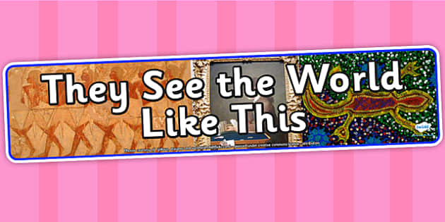 They See the World Like This IPC Photo Display Banner - see the world, IPC display banner, IPC, the the world display banner, IPC display
