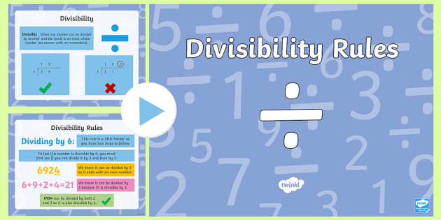 Divisibility Rules PowerPoint-Scottish - CfE Numeracy and Mathematics, number, divisibility, division, multiples,Scottish