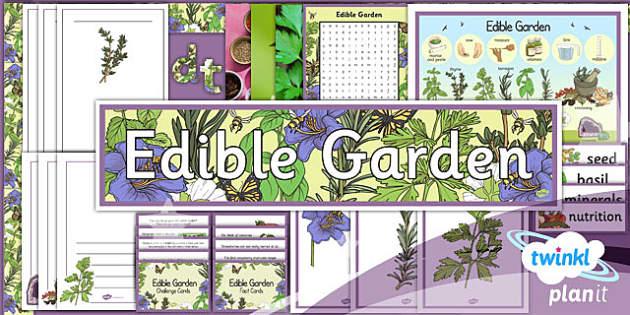 PlanIt - DT LKS2 - Edible Garden Unit Additional Resources