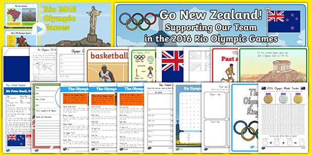 New Zealand Rio 2016 Olympics Resource Pack