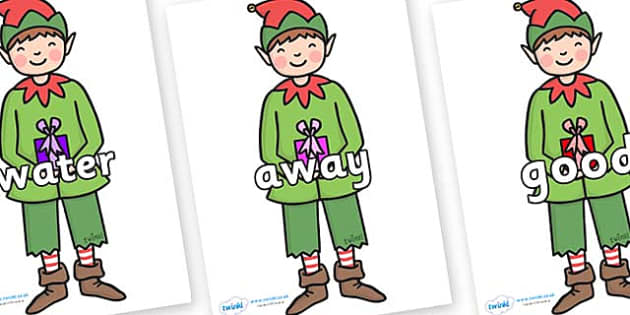 Next 200 Common Words on Elf (Plain) - Next 200 Common Words on  - DfES Letters and Sounds, Letters and Sounds, Letters and sounds words, Common words, 200 common words