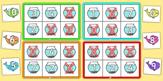 Number Bonds to 10 Bingo - Number bonds, Counting to 10, Adding to 10, Bingo Counting, numeracy, numbers, number patterns, number bonds, bingo, bonds to 10, rainbow facts