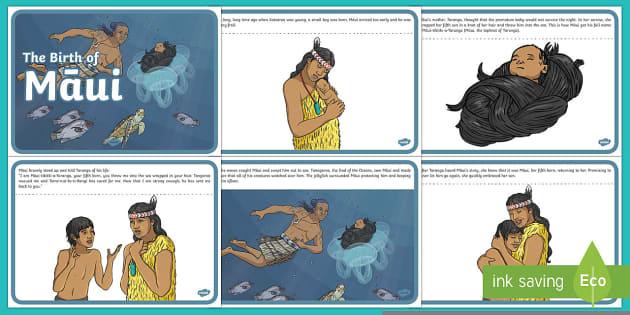 The Birth of Māui Story - Maui Myths Maori legends